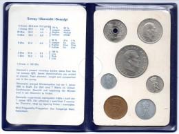 1972 DANIMARCA DANISH COINS SET FDC - Dinamarca