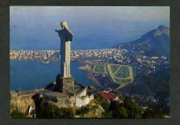 Rio De Janeiro *Vista Aérea...* Ed. Mercator Nº 62. Circulada 1969 Rodillo Rojo Rio Janeiro. - Brasil