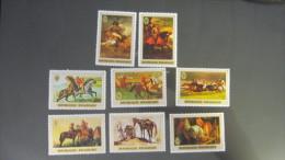 Ruanda MNH ** 1970 Mi. 367-374 Paintings
