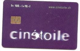 SWITZERLAND / SUISSE - TL Buscard Lausanne / Cin�card - CHF 100