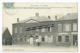 CPA - Marly - La Mairie