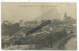CPA - Lesquielles Saint Germain,pr�s Guise - L'Eglise et les Ecoles