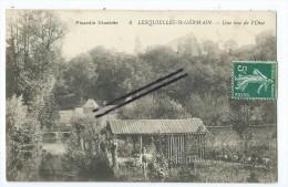 CPA - Lesquielles Saint Germain- Une vue de l'Oise