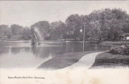 Ohio Cleveland Lake & Fountain Wade Park