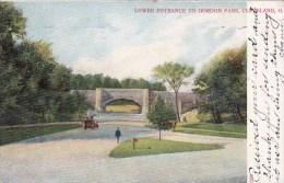 Ohio Lower Entrance to Gordon Park 1906