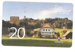 SWITZERLAND / SUISSE - Antenna - NEW CARD!!!! - CHF 20 - Tir. 55720 ONLY