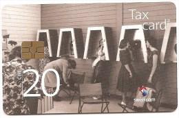 """SWITZERLAND /SUISSE - New historical set: CHF 20 """"cash station"""" - Tir. 66�800"""