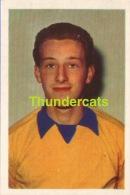 87 VANDENBERG PAUL UNION SINT GILLES  ** 1960´S IMAGE CHROMO FOOTBALL **  60´S  TRADING CARD ** VOETBAL KAARTJE - Trading Cards