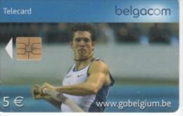 Belgique - sport saut � la perche - N� 134 - KJ