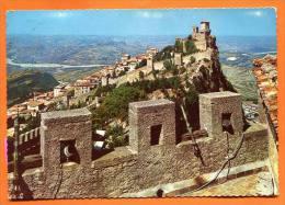 SAN MARINO - Panorama Della Cita Viato Dalla Seconda Torra - PC Franked With 3 Stamps - San Marino