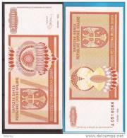 602  CROAZIA 1993 REPUBLIKA SRPSKA KRAJINA BANCONOTA  KNIN LUX-UNC - Croatie