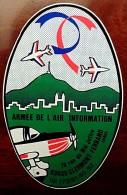 Autocollant Arm�e de l�air Cap 20 & AlphaJet � Aulnat (clermont-Fd)