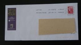 Musée De La Dentelle Lace Museum Retournac 43 Haute Loire PAP Postal Stationery 2477 - Textil