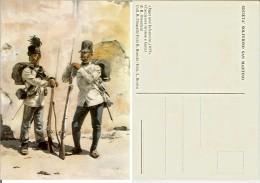 Cacciatore Tirolese E Fante (ill. Ottenfeld - Jager Und Infanterist, 1859). Società Solferino San Martino - Regiments