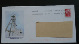 mine mining Ensisheim 68 Haut Rhin PAP postal stationery 2539