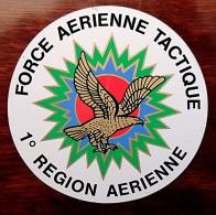 Autocollant Arm�e de l�air Force a�rienne tactique 1� R�gion a�rienne