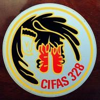Autocollant Arm�e de l�air Escadron de Bombardement Strat�gique CIFAS 328