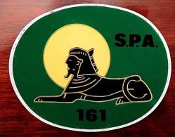 Autocollant Arm�e de l�air Escadrille de tradition de 1918 sur SPAD XIII  - Sphinx