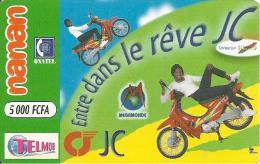 2-CARTE -PREPAYEE-BURKINA FASO-NANAN-ONETEL-TBE- - Burkina Faso