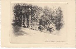 Paris France, Parc Monceau, Signed 'L Robin'(?) Etching? Art Work - Prints & Engravings