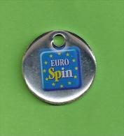 TOKEN SLOVENIA - Supermarket Trolley Token EUROSPIN SLOVENIA - Jetons En Medailles