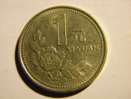 CHINE - 1 YI-YUAN  1992. - China