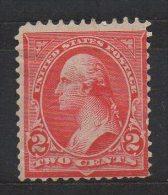 N601.-. USA / ESTADOS UNIDOS.-.1894. -. SC# : 252. TYPE III.-. MNG .-. WASHINGTON .-. CAT VAL US$ 120.00 - Unused Stamps