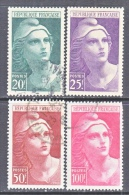 FRANCE  553-6  (o) - Used Stamps