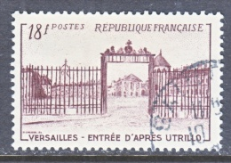FRANCE  686   (o)  VERSAILLES  GATE - Used Stamps