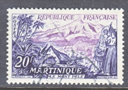 FRANCE  780   (o)  MT.  PELEE   MARTINIQUE - Used Stamps
