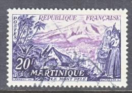 FRANCE  780   (o)  MT.  PELEE   MARTINIQUE - France