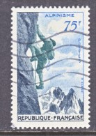 FRANCE  804   (o)   SPORTS    MOUNTAIN  CLIMBING, - Used Stamps