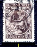 Grecia-F0021 - 1906 - Y&T: N.173 - Uno Solo - A Scelta - Usati