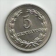 El Salvador  5 Centavos 1972. AUNC - Salvador