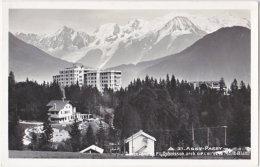 74. Pf. ASSY-PASSY. Sancellemoz Et Le Mont-Blanc. 31 - Passy