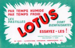 -  BUVARD Pastilles LOTUS à 17 ROCHEFORT-sur-MER - 682 - Cake & Candy