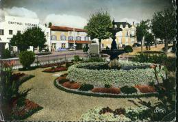 Saint Junien Central Garage Square Curie Tankstelle Gas-Station 14.8.1959 nach Munderkingen