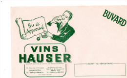 -  BUVARD  Vins HAUSER - 696 - Alimentaire