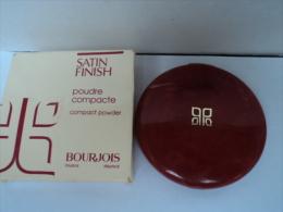 """BOURJOIS """"POUDRE COMPACTE: BLOND CENDRE"""" VOIR Et LIRE !! - Miniatures Femmes (avec Boite)"""