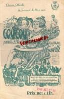 06 - NICE- RARE CHANSON OFFICIELLE DU CARNAVAL DE NICE 1927- COUCOU- MARI ET TARELLI- ILLUSTRATEUR MOSSA - Partitions Musicales Anciennes