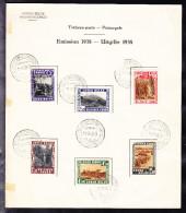 CONGO BELGE COB 197/02 OBL PREMIER JOUR 1938 . (4Z0)