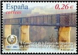 ESPAÑA 2003 - ESCUELA DE INGENIEROS DE CAMINOS - Edifil Nº 3966 - Yvert 3536 - 1931-Oggi: 2. Rep. - ... Juan Carlos I