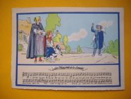 Cpsm  Illustrateur : JACK - Les Macons De La Creuse - Musique - Chansons - Folklore - Scènes De Vie - Barré - Dayez - Sin Clasificación