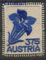 Austria 2008 Mi 2773 MNH - Flowers, Textile Stamp - Plants