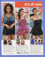 PUBLICITES USA MAGAZINE ADVERTISEMENT RECLAME WERBUNG REKLAME PUBBLICITI PUBLICIDAD  For SWIMSUITS BEACH WEAR BADEANZUG - Publicidad