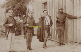 CARTE DE PHOTO SERBIE SERBIA SERVIA SERVIE SZABADKA SOLDATS MILITAIRS - Serbie