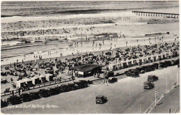 Durban: A Row Of ANTIQUE AUTOMOBILES/CARS - Streetscene - 'Sun And Surf Bathing'  - South Africa - Toerisme