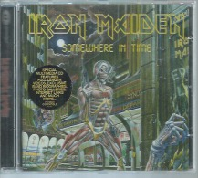 CD  IRON MAIDEN - SOMEWHERE IN TIME  - 8 TITRES - Autres - Musique Anglaise