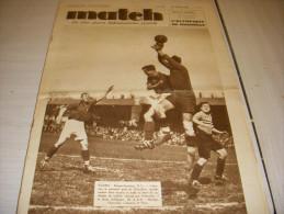 MATCH INTRAN 567 27.04.1937 FOOT OLYMPIQUE MARSEILLE OM CYCLISME PARIS TOURS - Sport