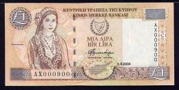 Cyprus 1 Lira 2004  Pick 60d UNC - Cyprus